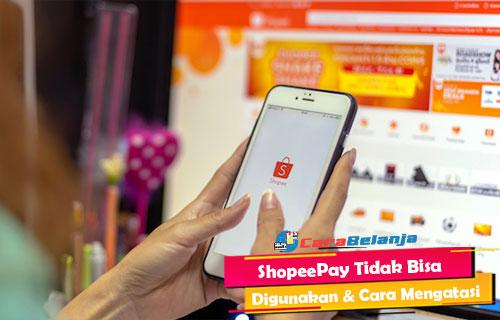 ShopeePay Tidak Bisa Digunakan Begini Cara Mengatasi